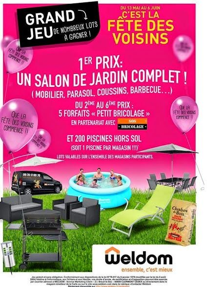 Https Www Facebook Com Pages Weldom Chaumont 379322692142362 Parasol Festivite Salon De Jardin