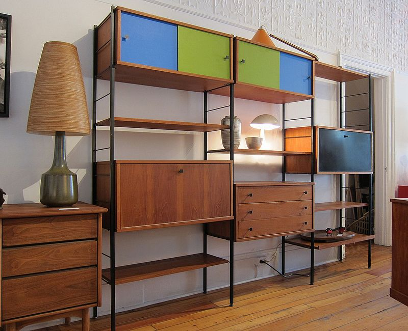 Best Affordable Mid Century Modern Shelving Furniture Mid 400 x 300