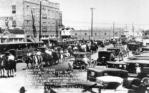 Odessa Texas In 1925 Odessa Texas Midland Texas Odessa