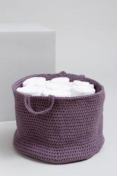 kostenlose anleitung aufbewahrungskorb initiative handarbeit h keln h keln stricken und. Black Bedroom Furniture Sets. Home Design Ideas