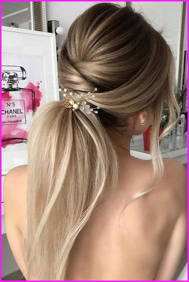 The Glamorous Of Wedding Guest Hairstyles Wedding Guest Hairstyles For Long Hair Wedding Guest Hairstyles Wedding Hair Trends Bridal Ponytail Cool Hairstyles