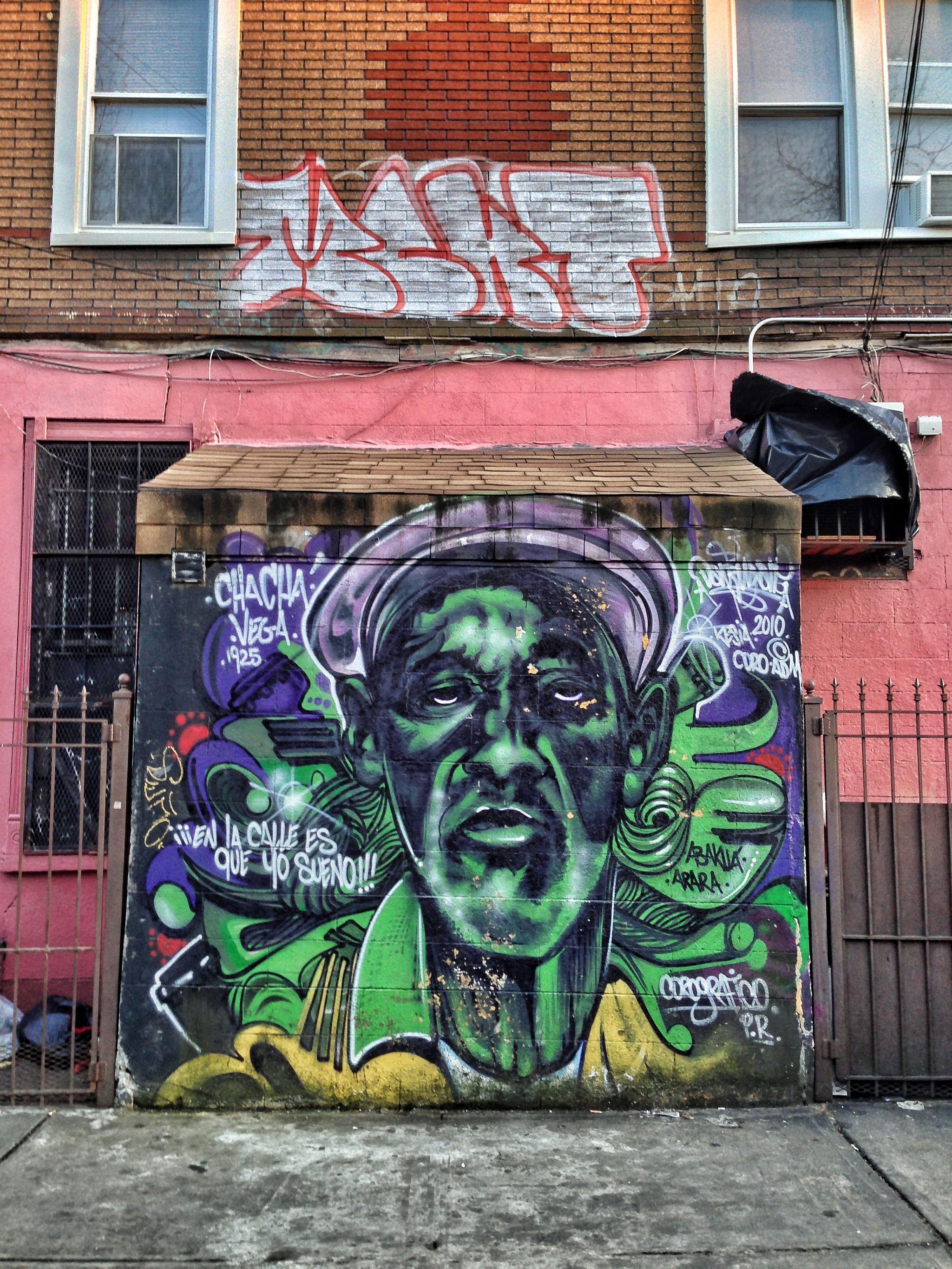 Bushwick Ave street art