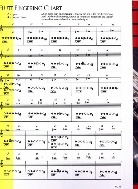Picture Jacey Pinterest Black dots and Finger - flute fingering chart