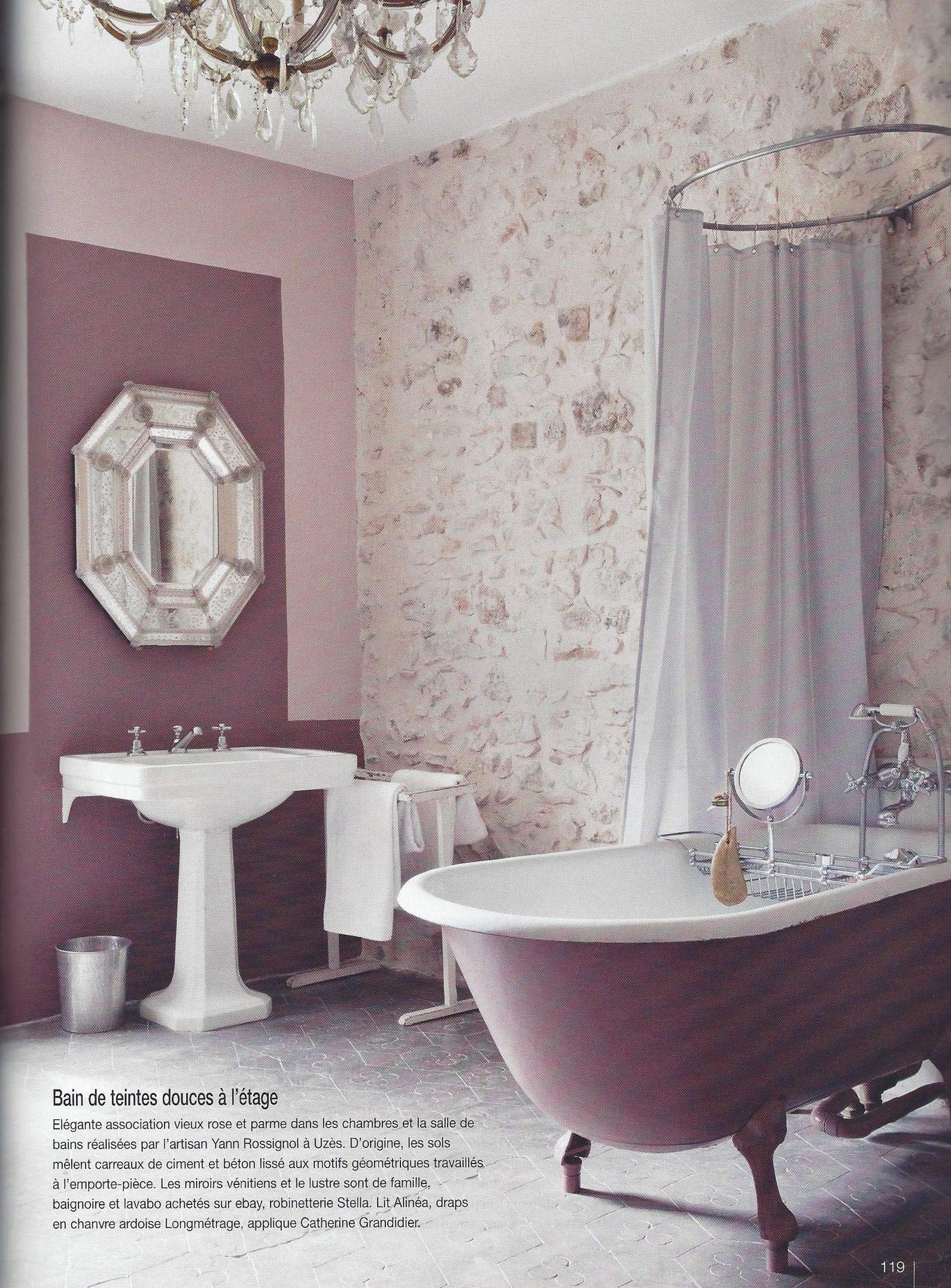 Decoration Salledebain Bathroom Sol Carreau De Ciment Tile