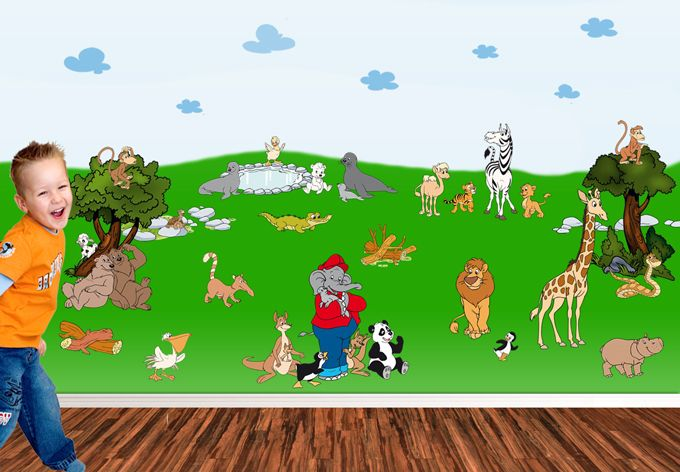 Wandtattoo Benjamin Blumchen Zoo Kiddinx Wandtattoos Wall Art De Benjamin Blumchen Wandtattoos Wandtattoo Kinder