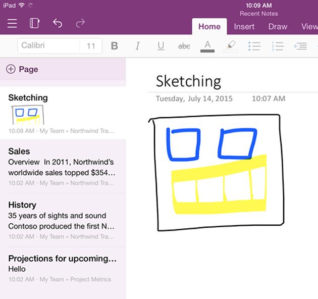Lee Microsoft combina OneNote para iPhone y iPad (y actualiza su app en Android)