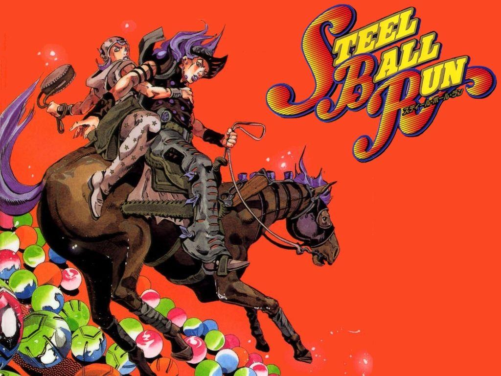 Jojo Part 7 Steel Ball Run Jojo Bizzare Adventure Jojo Bizarre