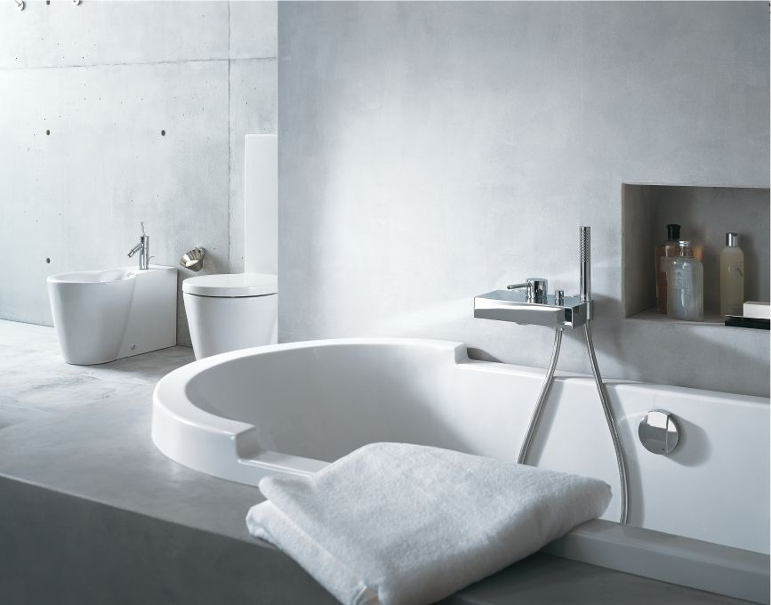Duravit - Bathroom design series: Starck bathtubs - bath tubs from ...