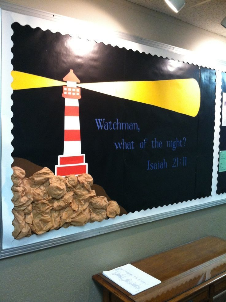 lighthouse bulletin board  broken link  just a picture