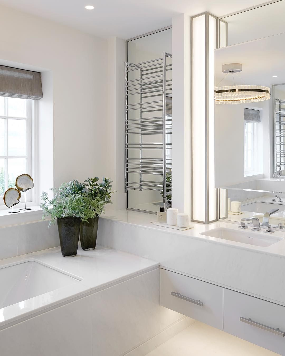 Ikea Bad Wörishofen White Marble Bathroom At Our Holland Park Project
