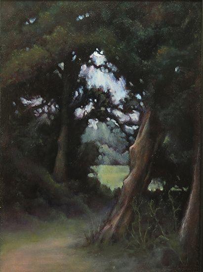 Luring Meadow  by Fran Noonan Oil ~ 14 x 10