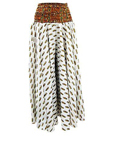 Womens Hippie Palazzo White Printed Casual Wear Silk Maxi... https://www.amazon.com/dp/B01BQ673CE/ref=cm_sw_r_pi_dp_x_BLvSyb4TBYWNE #skirt #bohemianstyle #dividedskirt #bohofashion #maxiskirt #longskirt
