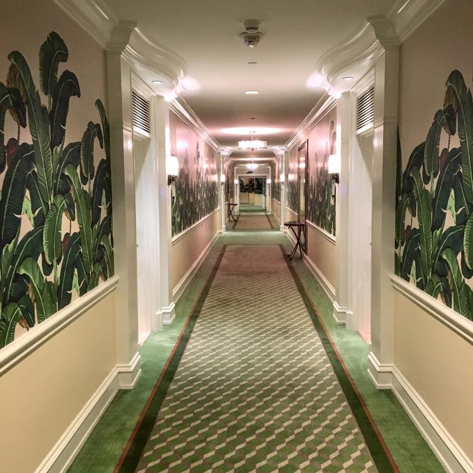 The Beverly Hills Hotel 5star hotel Wandgestaltung