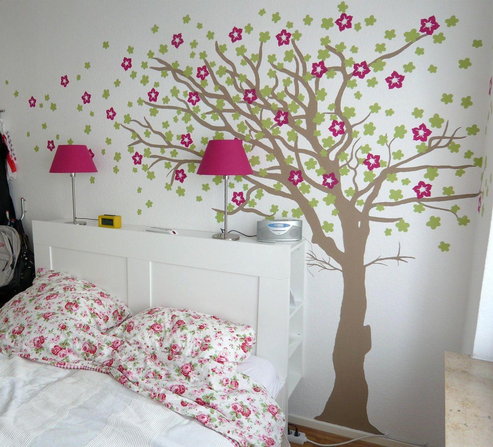 wandgestaltung kinderzimmer schablonen | Kinderzimmer | Home decor ...
