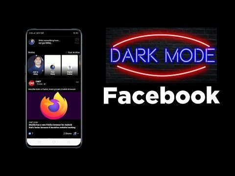 Dak mode in Facebookfacebook dark theme in HindiDigital