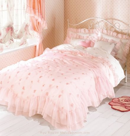 pink princess bedroom sets lovely room kids stuff