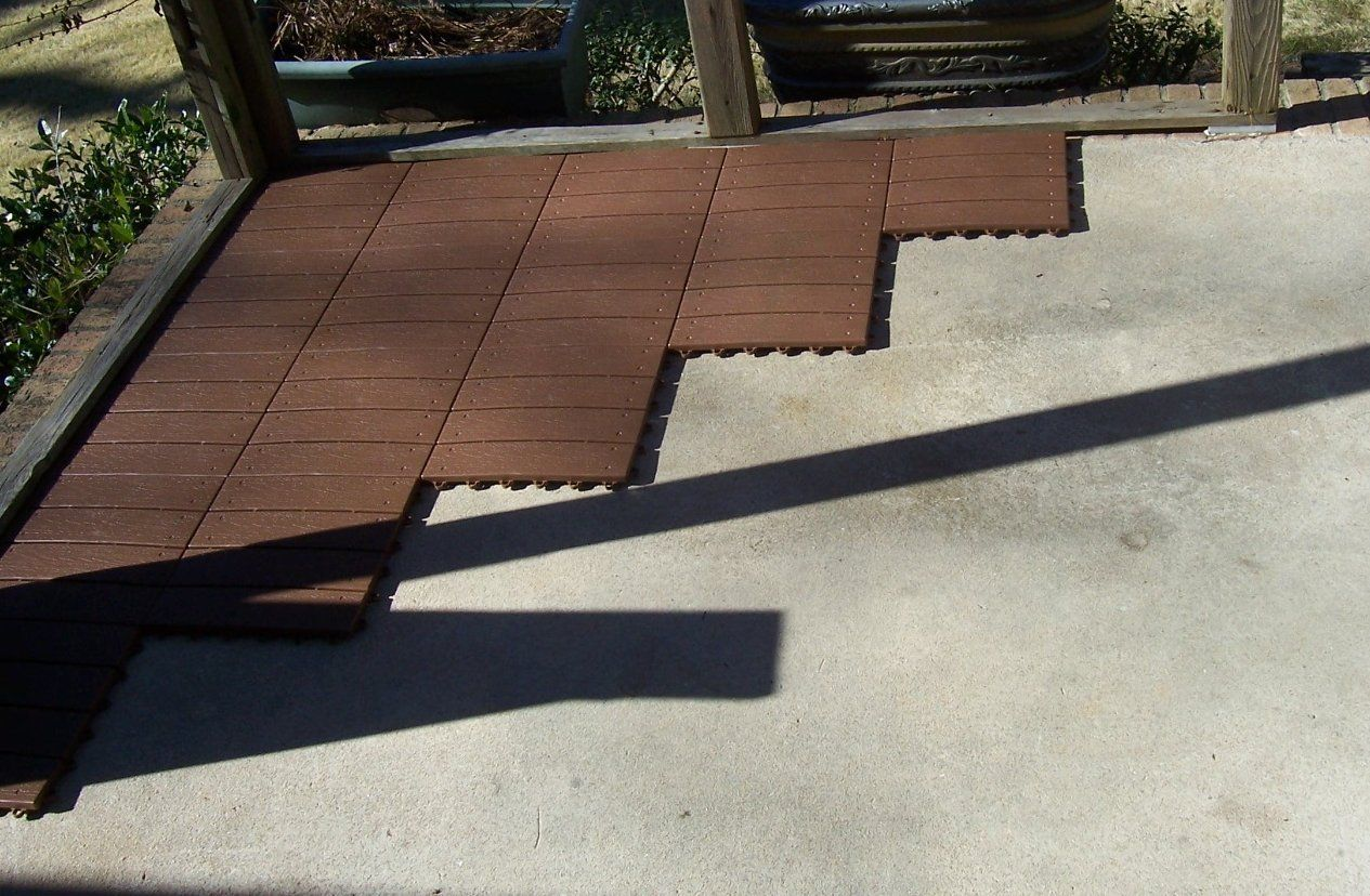 Build a wood plastic composite deckbuild an outdoor floor build a wood plastic composite deckbuild an outdoor floor dailygadgetfo Images