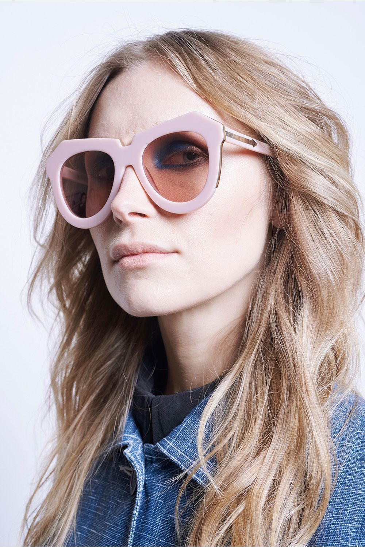 b7cb5c6e490 One Meadow Dusty Pink & Gold - All Eyewear | Karen Walker | Ensemble ...