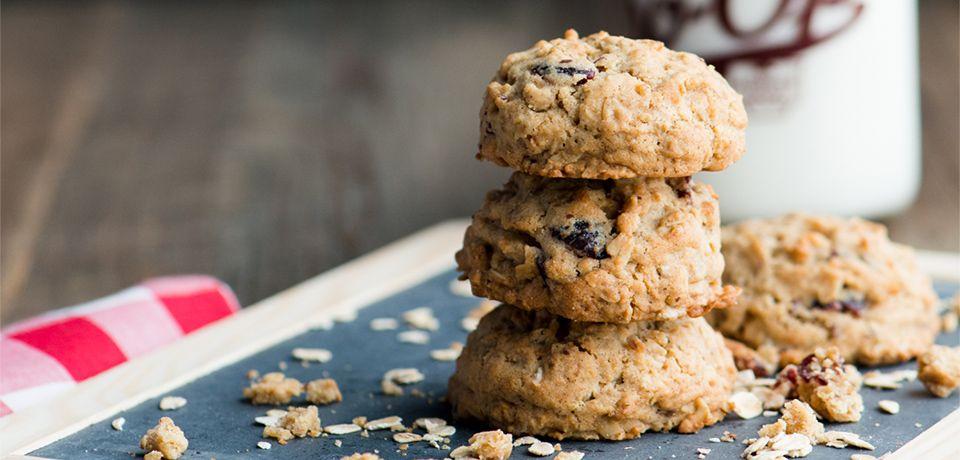 Granola Flax Cookies