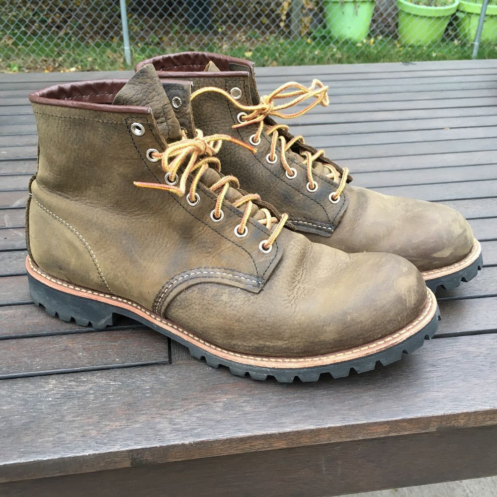 Red Wing Heritage 2947 Roughneck Boots Size 12 D Red Wing