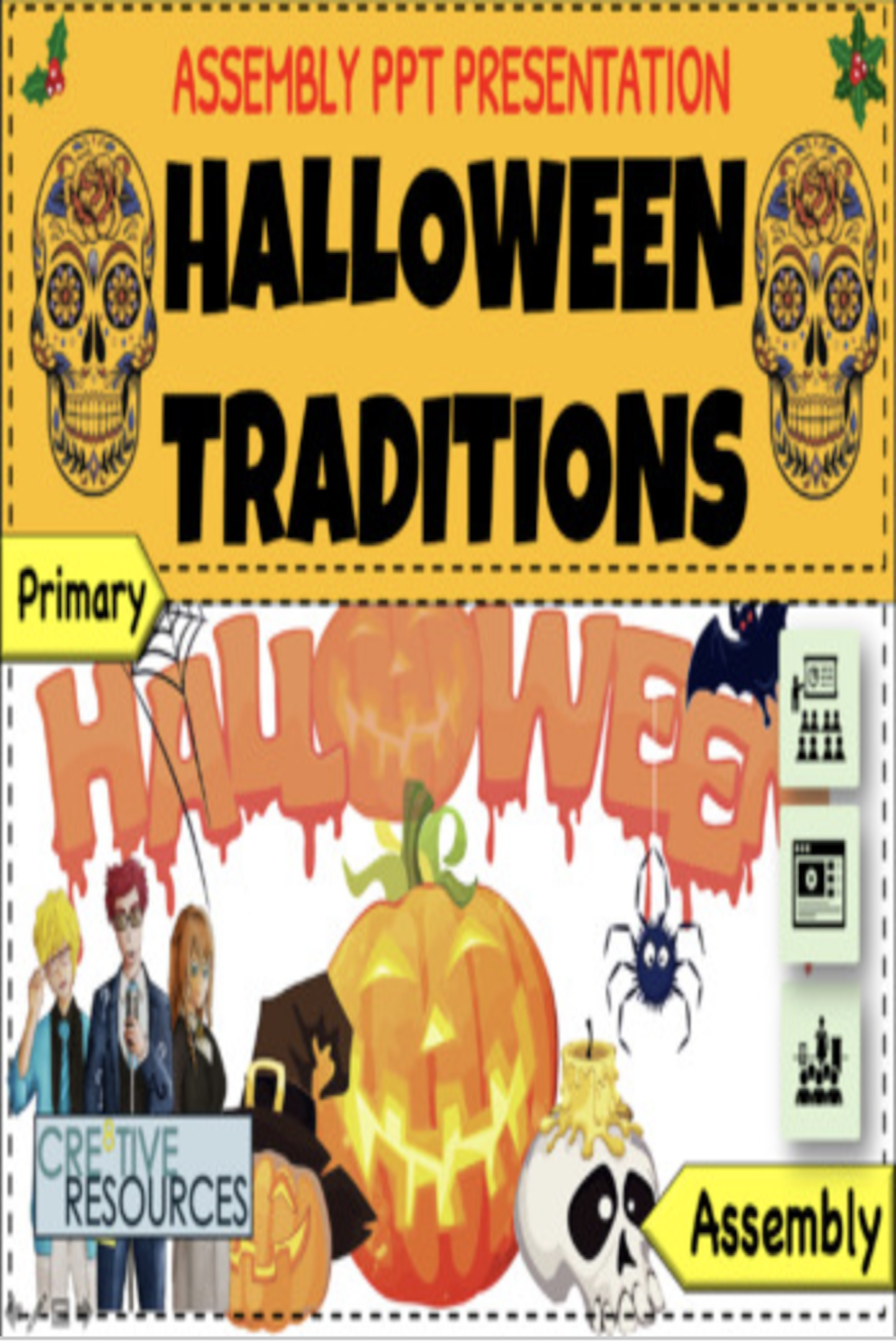 Halloween Traditions Elementary Assembly Mini Lesson