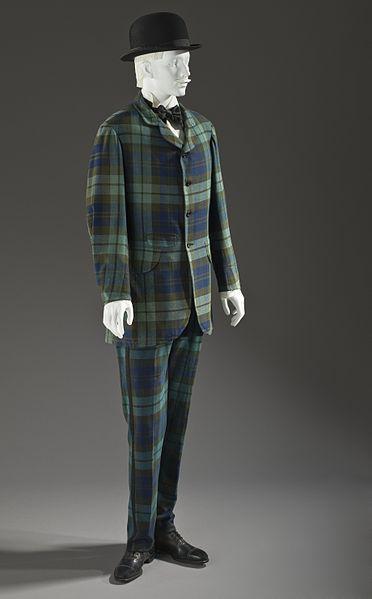 efd4f060da3 Man s two-piece lounge suit