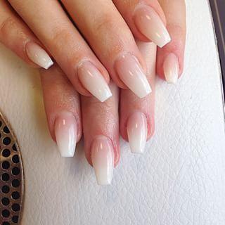 Bildergebnis für ombre französische Nägel #nailsshape