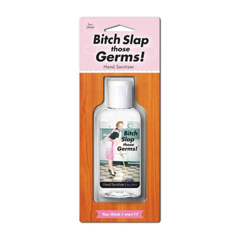 Quirky Hand Sanitizer Bitch Slap Germs From Tusk Homewares
