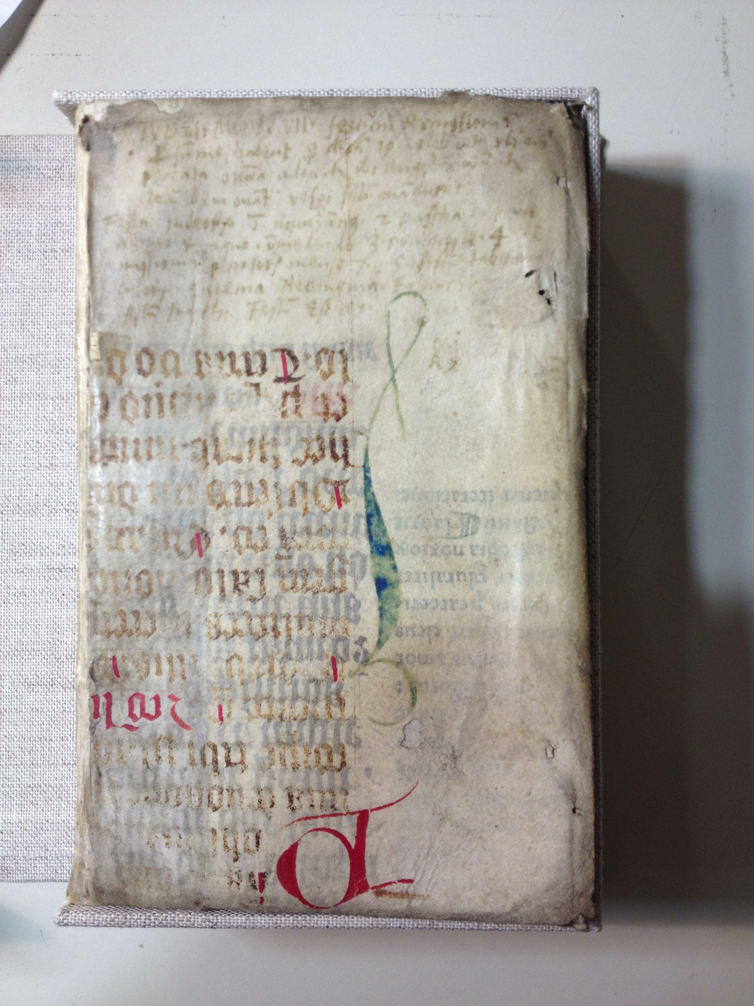Beautiful renaissance limp vellum binding