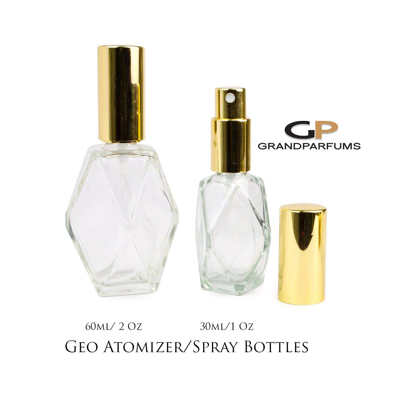 3 Premium Essential Oil Spray Bottles 1 Oz Or 2 Oz Perfume Atomizer Empty Glass Fine Mist Bottle Geo Ge Essential Oil Spray Bottle Essential Oil Spray Perfume