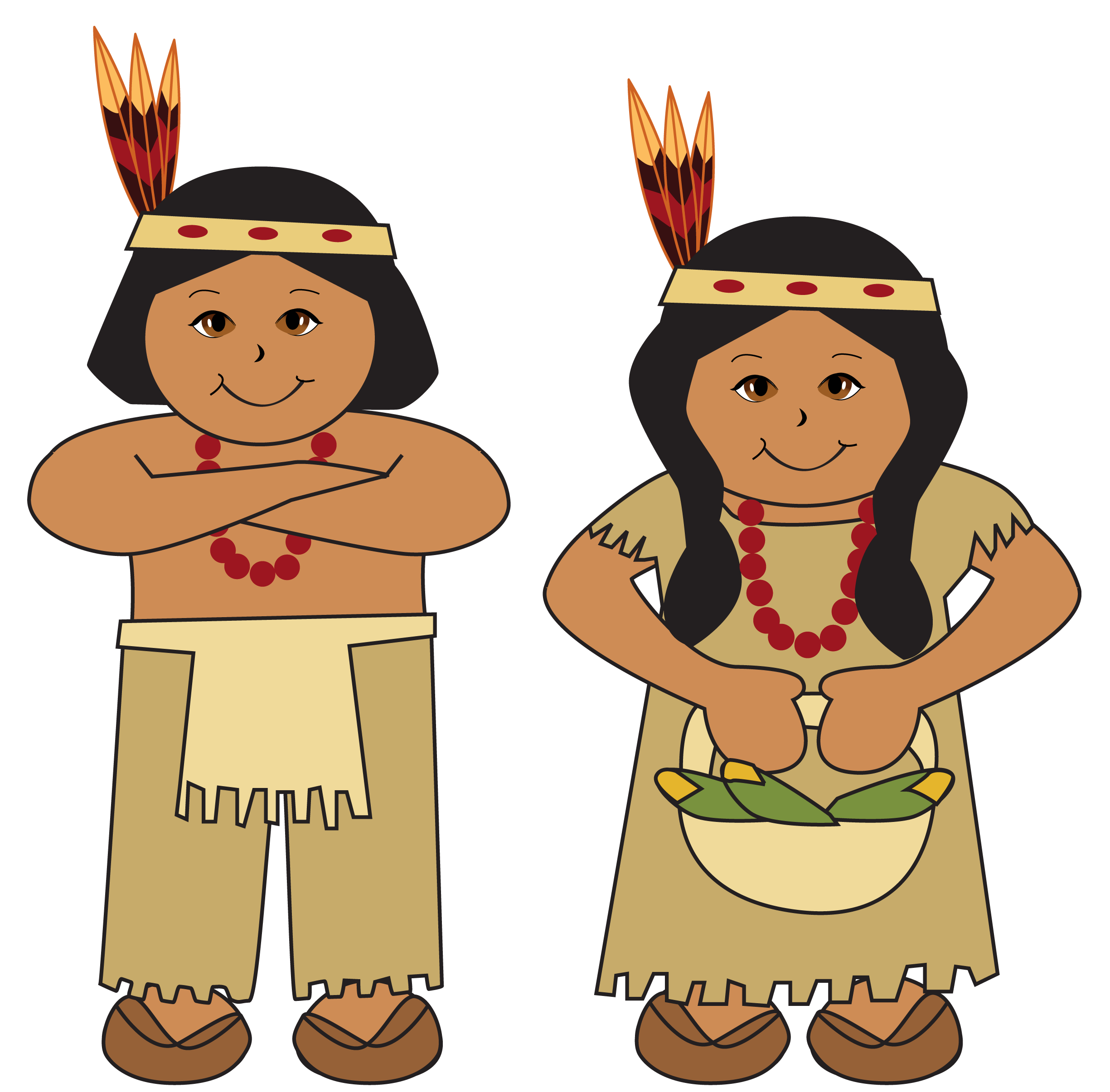 native americans clipart picture [ 2449 x 2410 Pixel ]