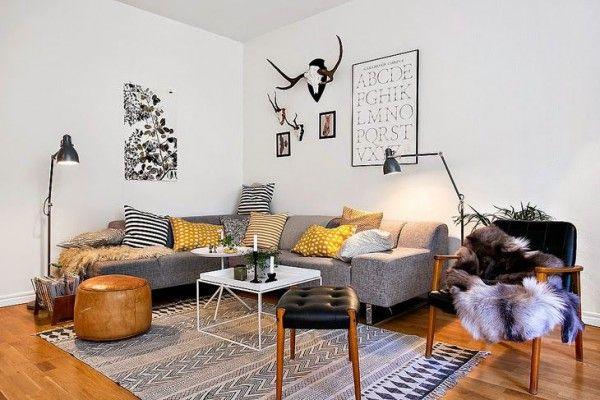 Hoekbank woonkamer - THESTYLEBOX | Deco ideas | Pinterest | Simple ...