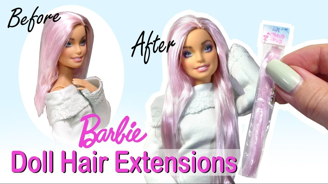 Easy how to doll barbie hair extensions tutorial miniatures easy how to doll barbie hair extensions tutorial pmusecretfo Gallery