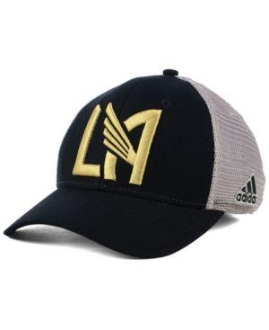 new style 1ec84 4017d adidas Los Angeles Football Club Mesh Flex Cap - Gray L XL