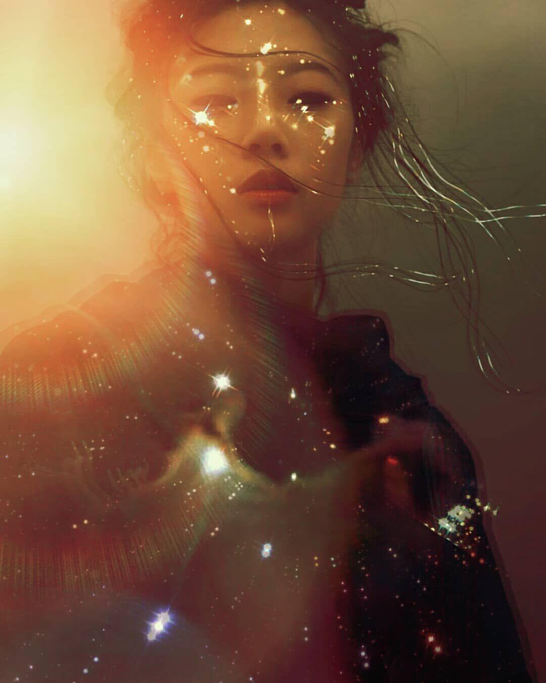 Sun Goddess Photokinesis Emanating Light Nature Goddess