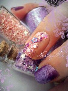 Magic Fairy via nailsymo nail design.
