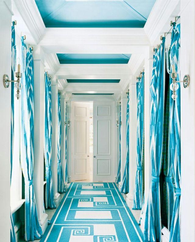 Maison De Prestige En Floride En Turquoise