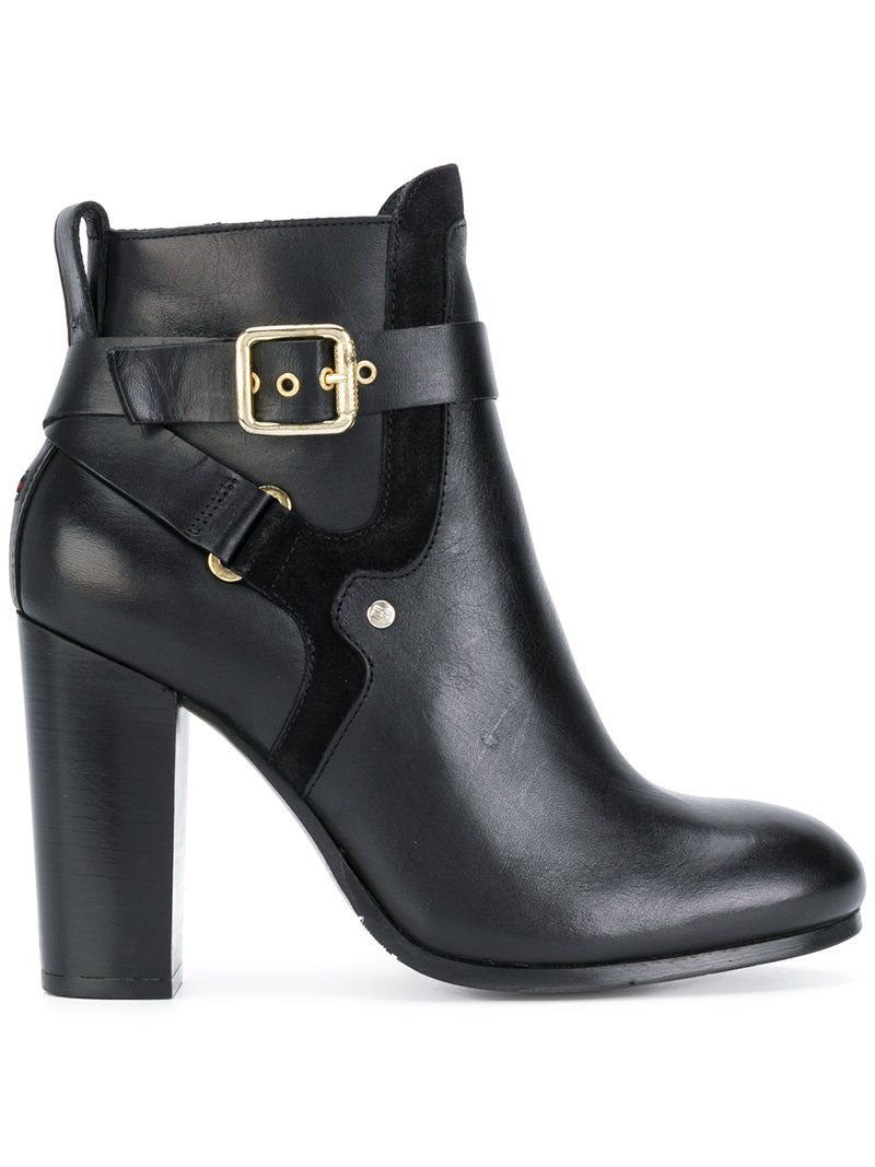 12600624f358 TOMMY HILFIGER STRAP DETAIL ANKLE BOOTS.  tommyhilfiger  shoes ...