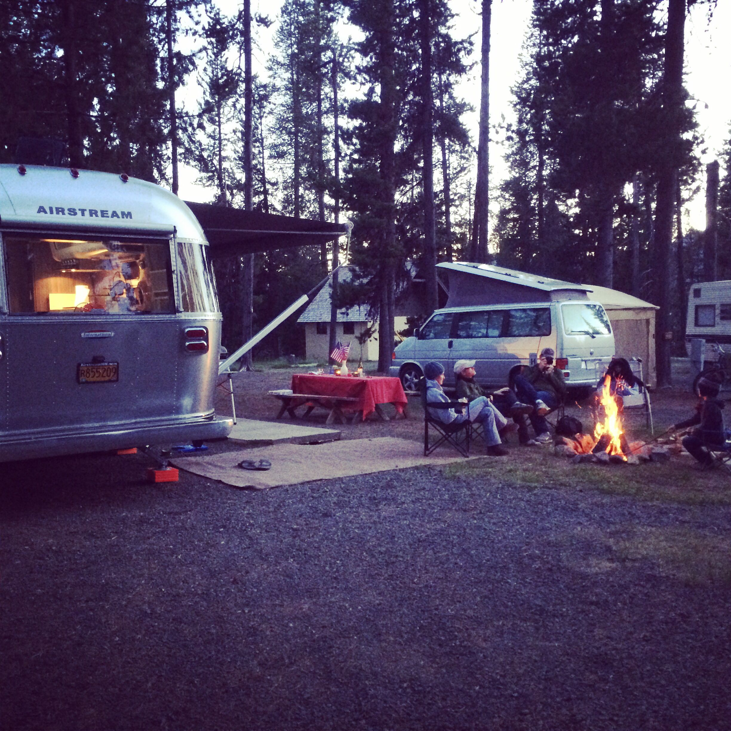 Campground Diamond: Fourth Of July Camping At Diamond Lake RV Park