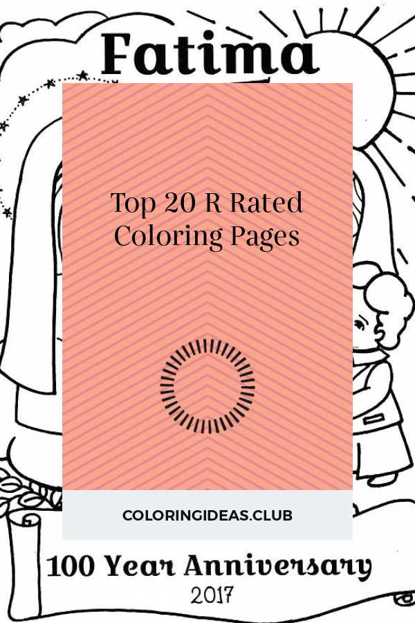 R Rated Coloring Pages