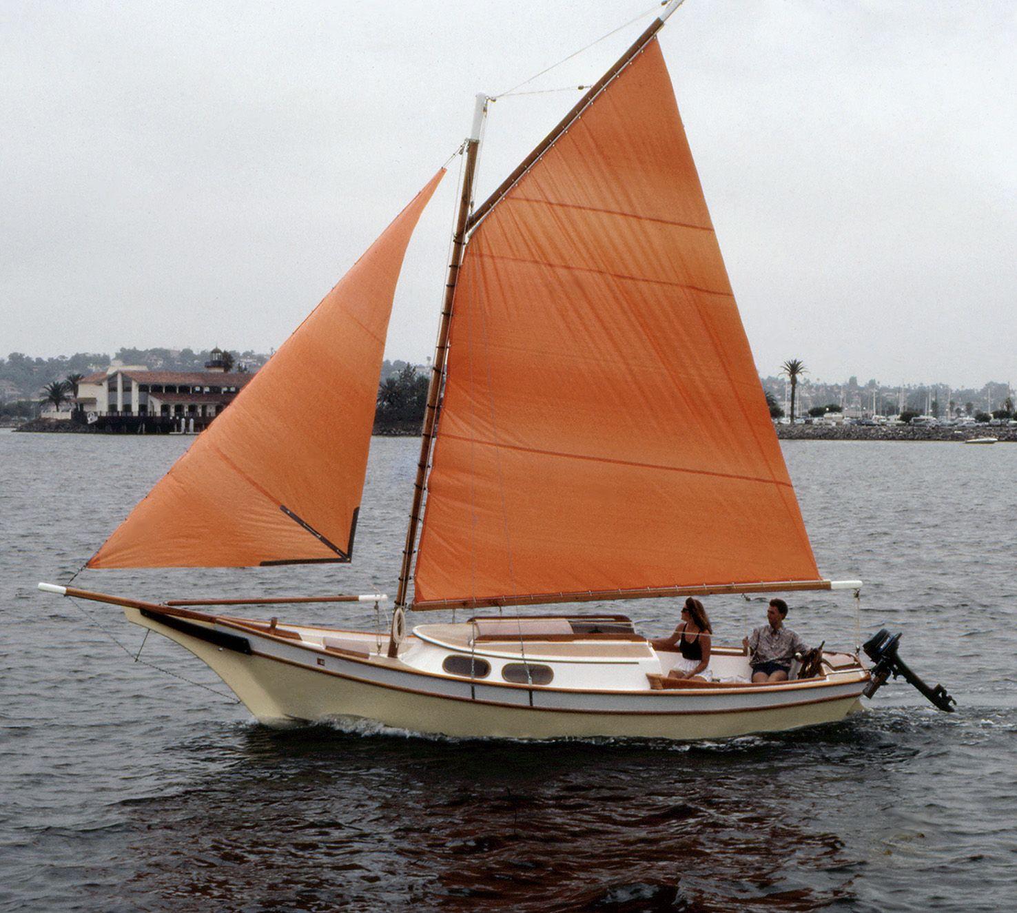 19 Ft Sailboat Dn Goodchild Plans Recap