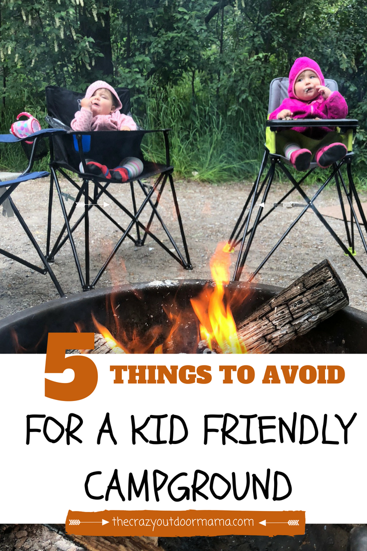 Photo of 5 Things to Avoid for a FUN Kid Friendly Campground! – The Crazy Outdoor Mama