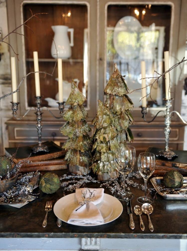 Weihnachtsdeko Ideen Tischdeko Zu Weihnachten In Gold Und Silber