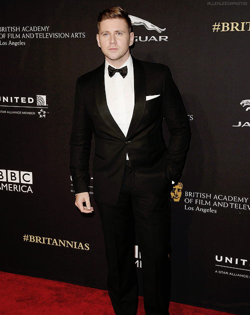 Allen Leech attends the 2014 BAFTA Los Angeles Jaguar Britannia Awards