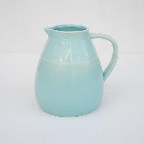 Seagate Ceramic Pitcher, $38.00 shopthemansion.com