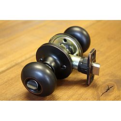 Sure-Loc Vintage Bronze Mushroom-shaped Privacy Door Knob (vintage ...