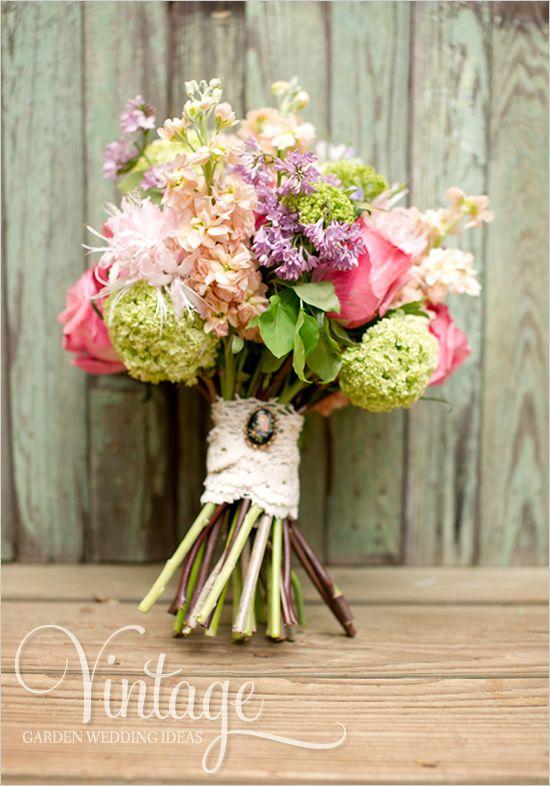 garden wedding bouquet | Wedding Bouquets | Pinterest | Gardens ...