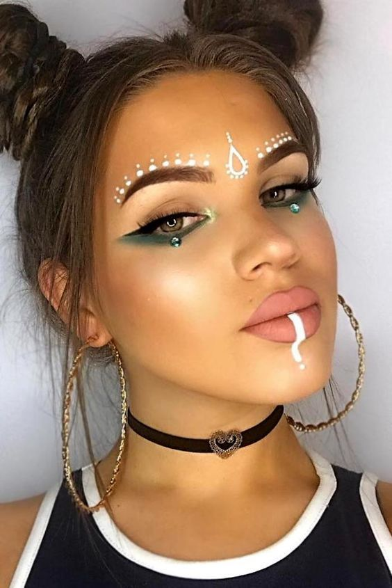 40+ Easy Festival Makeup Ideas To Complete Your Look