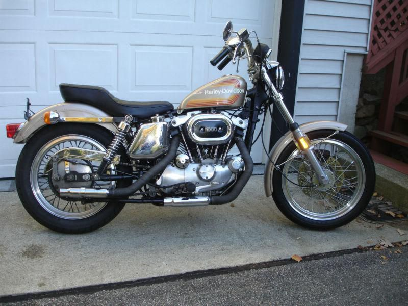 Original Paint 1976 Amf Harley Davidson Xlh For Sale On 2040motos Amf Harley Harley Harley Davidson