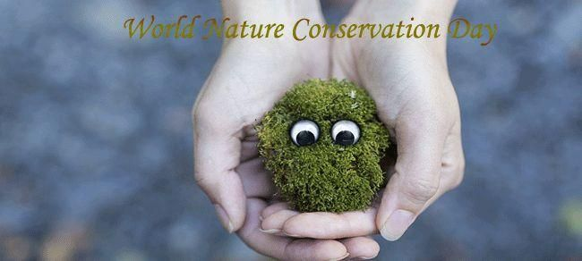 Happy World Nature Conservation Day Photo Prompts Sustainable Living Environment Friendly Living